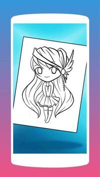 Anime Chibi Manga Coloring Book screenshot 2