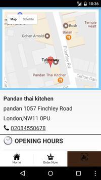 Pandan Thai Kitchen ảnh chụp màn hình 3