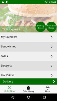 Cafe Express screenshot 1