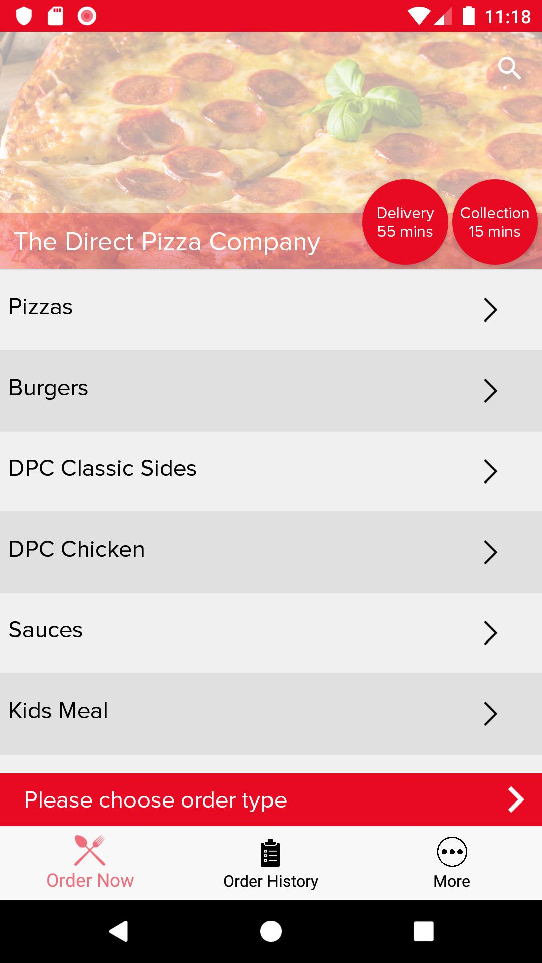 The Direct Pizza Company For Android Apk Download