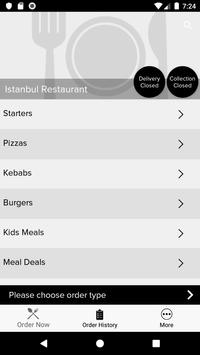Istanbul Restaurant screenshot 1