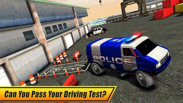 Real Police Car Parking 3D Sim screenshot 11