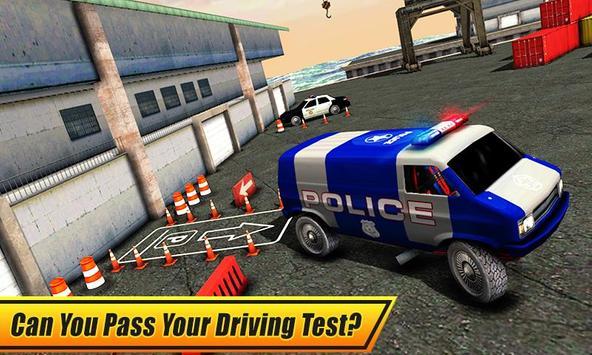 Real Police Car Parking 3D Sim screenshot 1