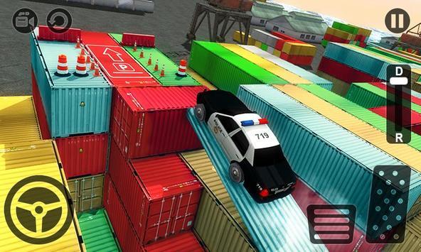 Real Police Car Parking 3D Sim screenshot 2