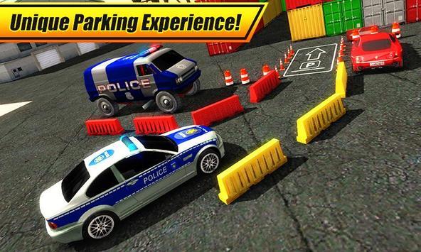 Real Police Car Parking 3D Sim screenshot 3