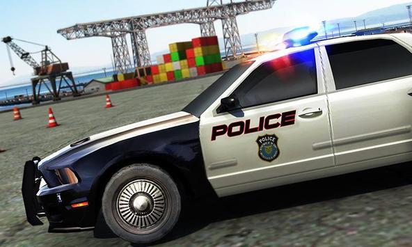 Real Police Car Parking 3D Sim screenshot 4