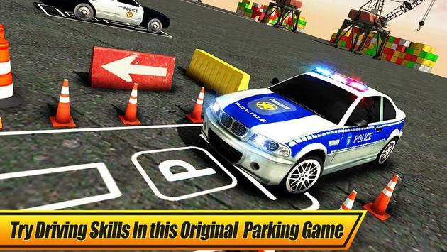 Real Police Car Parking 3D Sim screenshot 5