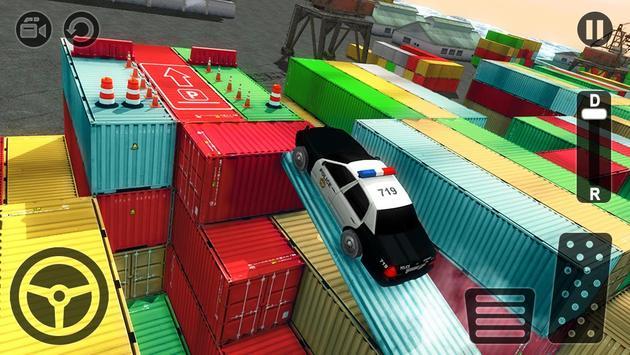 Real Police Car Parking 3D Sim screenshot 7