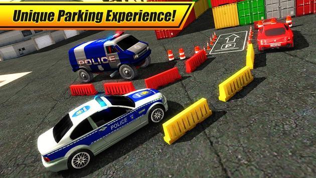 Real Police Car Parking 3D Sim screenshot 8