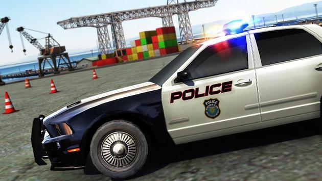 Real Police Car Parking 3D Sim screenshot 9