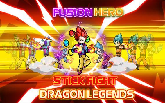 Stickman Fight : Dragon Legends Battle screenshot 8