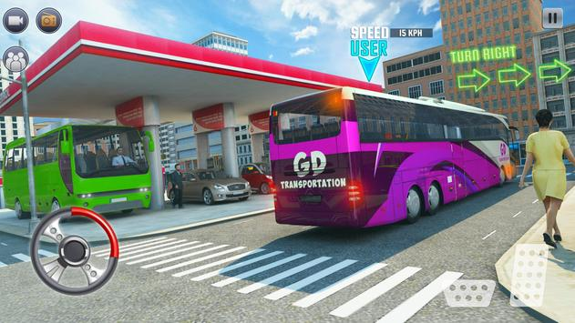 Ultimate Bus Driving Coach Simulator screenshot 6