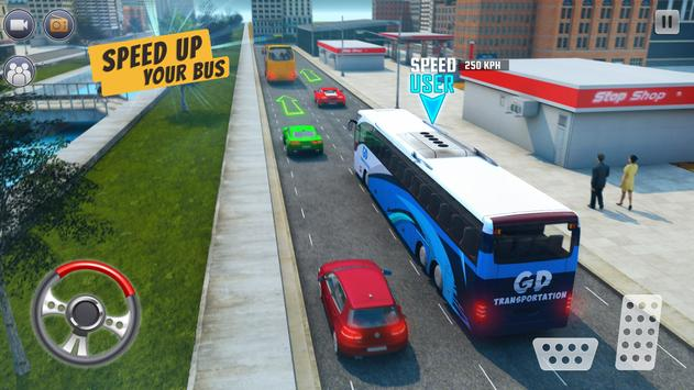 Ultimate Bus Driving Coach Simulator screenshot 8