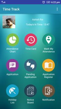 Time Track-Mobile screenshot 1