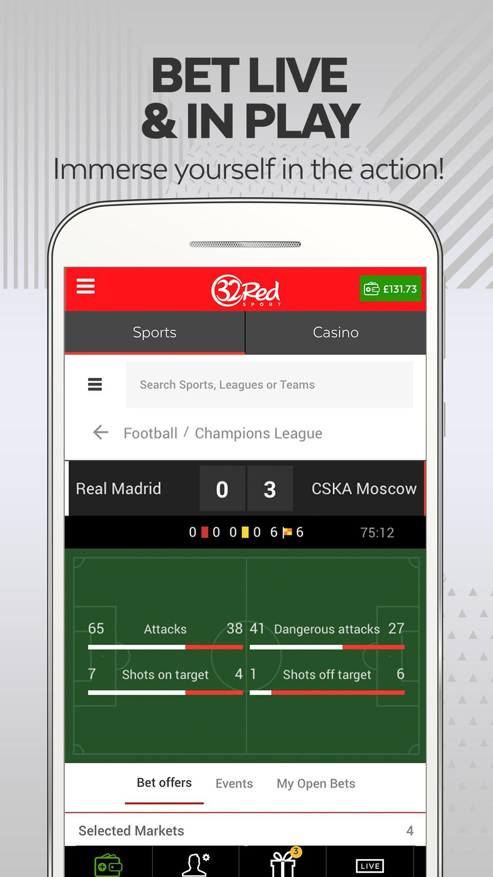 32red mobile sports betting minecraft lag fix mod 1-3 2-4 betting system
