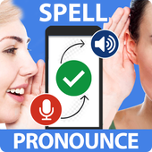 Word Pronunciation & Spell Checker - STT / TTS icon