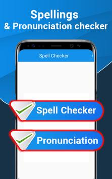 Word Pronunciation & Spell Checker - STT / TTS पोस्टर