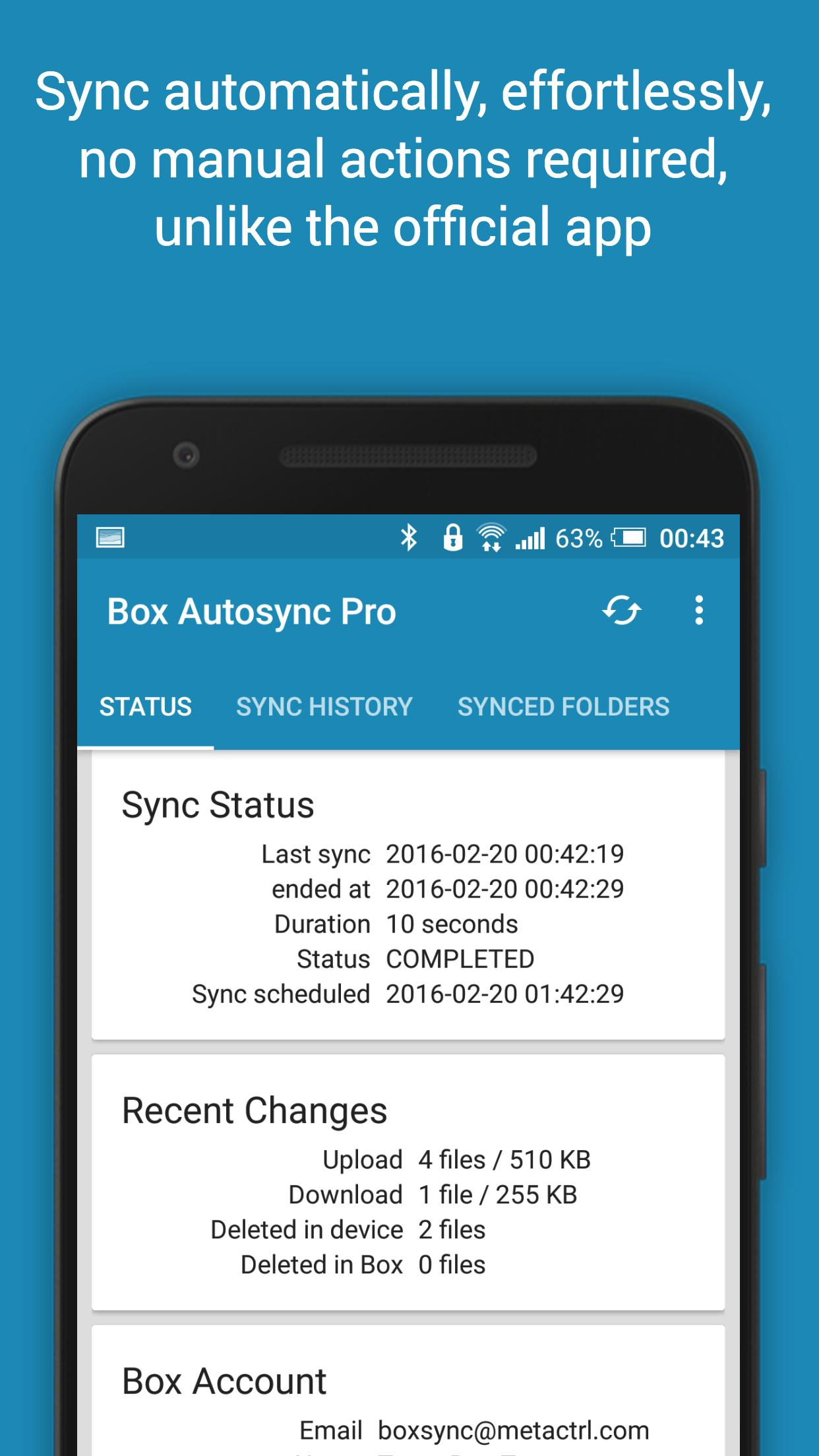 Autosync for Box - BoxSync for Android - APK Download