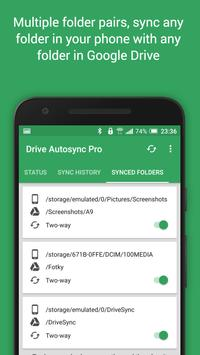 Autosync تصوير الشاشة 5