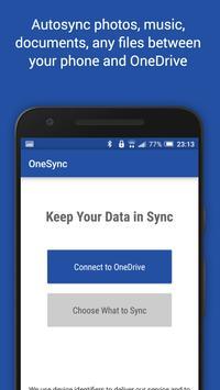 Autosync for OneDrive - OneSync plakat