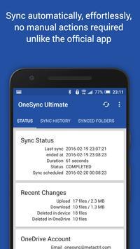Autosync for OneDrive - OneSync screenshot 1