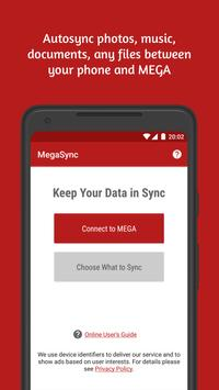 Autosync for MEGA - MegaSync पोस्टर