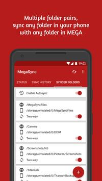 Autosync for MEGA - MegaSync स्क्रीनशॉट 5