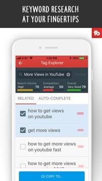 TubeBuddy screenshot 1