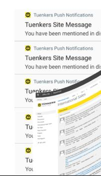 Tuenkers ISD Notifications poster