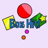 Icona Box Hit! - Multi-colored 2.5D fun physics game