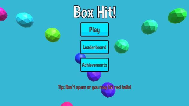 Poster Box Hit! - Multi-colored 2.5D fun physics game