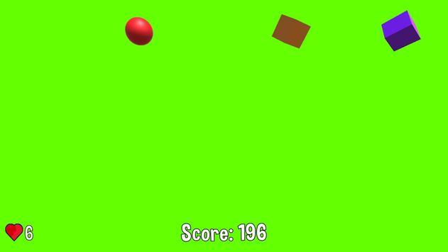 1 Schermata Box Hit! - Multi-colored 2.5D fun physics game