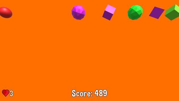 2 Schermata Box Hit! - Multi-colored 2.5D fun physics game