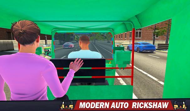 Tuk Tuk Auto Rickshaw - New Rickshaw Driving Games screenshot 9