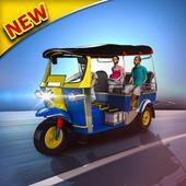 Tuk Tuk Rickshaw Driver icon