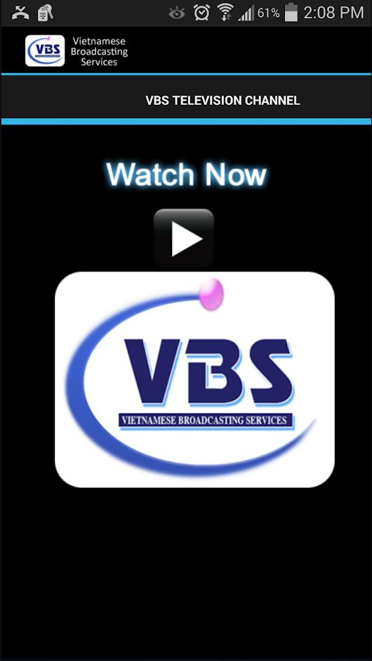 VBS Television - Vietnamese TV for AndroidTV cho Android