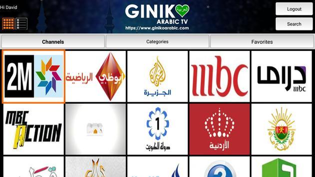 Giniko Arabic TV screenshot 5