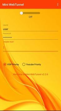 Mini WebTunnel screenshot 1