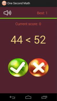 One Second Math screenshot 1