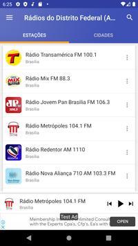 📻 Rádios do Distrito Federal (AM/FM) screenshot 3