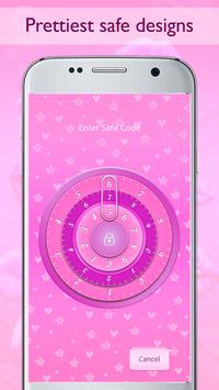 Combination Safe Lock Pink screenshot 4