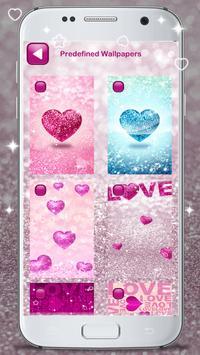 Glitter Love Wallpaper poster
