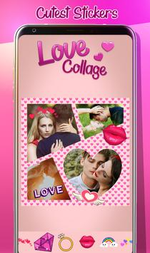 Love Photo Collage Creator poster