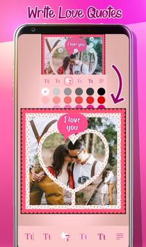 Love Photo Collage Creator screenshot 1