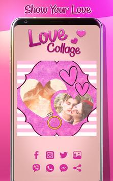 Love Photo Collage Creator screenshot 5