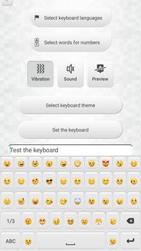 White Keyboard Custom Changer screenshot 2