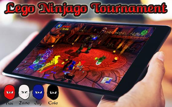 Tips Ninjago Tournament Lego Skybound 2 poster