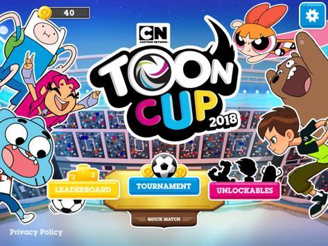 Copa Toon 2018 - O Jogo de Futebol do CN Cartaz