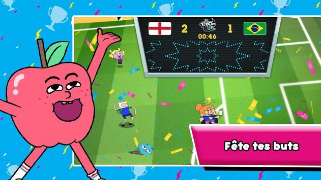Toon Cup - Le jeu de foot de Cartoon Network capture d'écran 5
