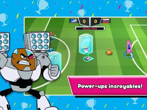 Toon Cup - Le jeu de foot de Cartoon Network capture d'écran 19